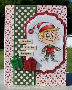 Kenny K digital stamp at cre8ivecindy.blogspot.com: Christmas Cards All Year Round Mid Month