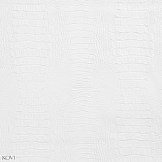 White Reptile Snake Skin Look Vinyl Upholstery Fabric for chairs