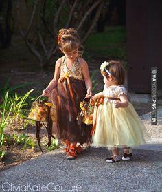 September wedding with lots of flower girls.... | VIA #WEDDINGPINS.NET