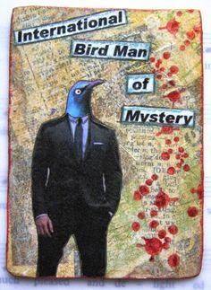 Sherry's Simple Blog: Bird People ATCs