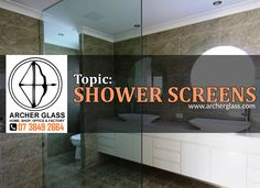 Gerry gives us information about the different types of shower screens that they manufacture in Archer Glass - framed, semi-frameless and frameless shower sc. Shower Screens, Frameless Shower, Safety Glass, Glass Shower, Archer, Shower Curtains, Brisbane, Bathrooms, Interview