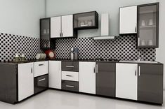Modular kitchen design becomes a style affirmation of new kitchen design and contemporary design for modern house. Kitchen Design Color, Kitchen Cupboard Designs, Kitchen Interior Design Decor, Kitchen Room Design, Modern Kitchen Cabinet Design, Kitchen Furniture Design, Kitchen Layout, Cupboard Design, Kitchen Design