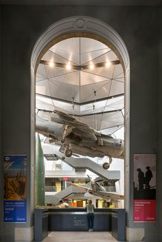 Foster + Partners adds First World War galleries to London's Imperial War Museum.