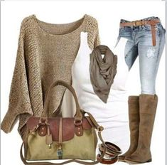 Relaxed Chic. Love it!!