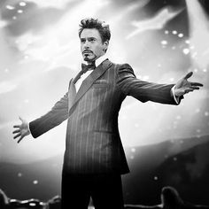 Tony onstage at Stark Expo (Iron Man 2) - Just watched this movie a couple of hours ago and I perfectly acted out that part. :)