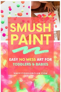 Toddler art you'll want to hang on the wall! This easy craft turns out so pretty and the best part is, there is no mess involved. You can have this set up in 5 minutes! Easy indoor activity for toddlers and kids, and a beautiful simple craft! Easy Toddler Crafts, Toddler Art Projects, Easy Art Projects, Crafts For Kids, Preschool Crafts, Indoor Activities For Toddlers, Fun Fall Activities, Infant Activities, Motor Activities