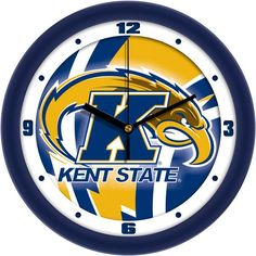 Mens Kent State Golden Flashes - Dimension Wall Clock