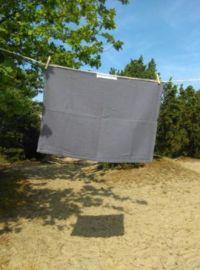 Stoere wafeldoek voor decoratie of gebruik in keuken of toilet  mooi robuust geweven voor stoere sobere uitstraling. 70x50 cm