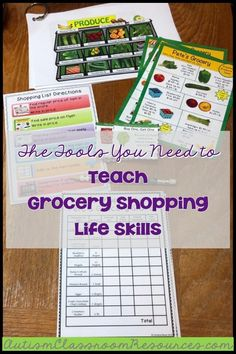 This functional life skills activity is perfect for any special education environment. This pack includes activities aimed at teaching students practi. Life Skills Lessons, Life Skills Activities, Life Skills Classroom, Teaching Life Skills, Writing Skills, Preschool Life Skills, Skills List, Preschool Schedule, Life Learning