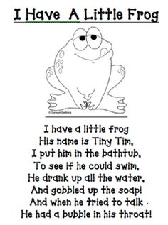"I learned this poem/song as ""I Had A Little Turtle."" Still really cute : )"