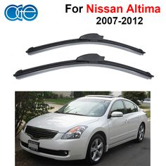Oge Windshield Wiper Blades For Nissan Altima 2007-2012 Pair 28''+17'' Windscreen Glass Silicone Rubber Car Accessories