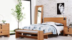 Gallery Bed Frame with Tech Pack | Domayne
