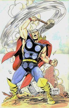 Thor by Tom Grummett
