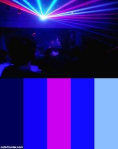 Zombie Nation Under Lazer Roof Color Scheme