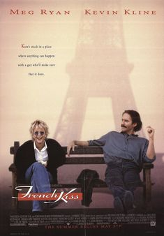 French Kiss (1995) Review 1990s Films, 1995 Movies, All Movies, Timothy Hutton, Life Falling Apart, Kevin Kline, Jean Reno, Fear Of Flying, Meg Ryan