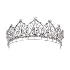 Platinum and diamond tiara, 5.87 carats.  Platinum Guild International in Japan.