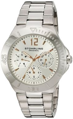 Stuhrling Original Women's 558.01 Symphony Regent Capital Quartz Watch >>> You can get more details by clicking on the image.