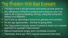How To Cure Blurry Vision In Dayz And Improve Eyesight Naturally Improve Eyesight, Eye Sight Improvement, Go To Sleep, No Worries, Improve Yourself, The Cure, Health Fitness, Nature, Naturaleza
