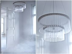 Maria S C double chandelier