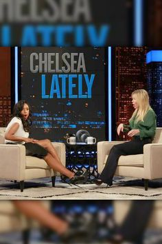 """""""The American Idol alum suffered a major wardrobe malfunction during her entrance on the Chelsea Lately show in October 2013, when the skirt on her zipper ripped open from the front. Luckily, Chelsea came to her rescue!"""""""