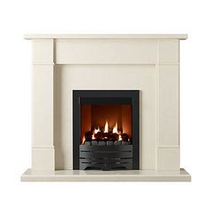 Marble fireplace surround. £329.99  http://www.worldstores.co.uk/p/Gallery_Rydal_Micro_Marble_Perla_Fireplace_Surround.htm