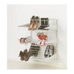 ALGOT Crémaillère/organiseur chaussures - 65x60x84 cm - IKEA