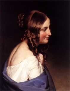 Friedrich von Amerling (April 14, 1803 – January 14, 1887) Likeness of a Girl