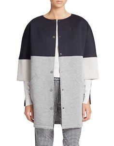 Sew it Yourself - Start with Burda Boucle Coat 103 from Oct 2013 Burda Style…