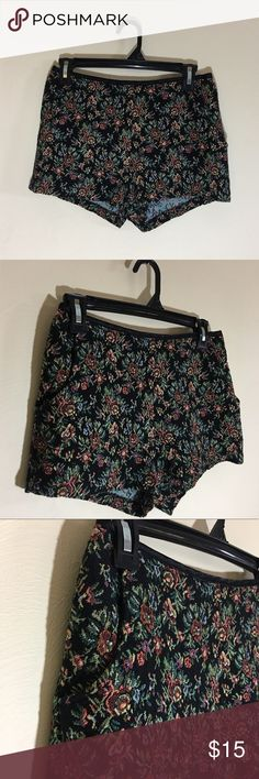 Mine embroidered zip up shorts *The last image is a styling example not the actual product*   No flaws  Has pockets  Size Medium  Great statement piece for spring mine Shorts
