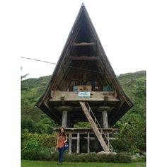 Sopo (traditional house) Lontung, Samosir island, North Sumatera