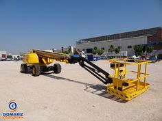 Telescopic Boom Lift GROVE MZ72XT for sale. Year: 2000 Height: 20m