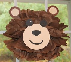 Bear teddy bear pom pom kit king of the jungle by TheShowerPlanner