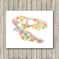 Your place to buy and sell all things handmade Quilt Block Patterns, Pattern Blocks, Dinosaur Head, Tattoo Graphic, Everything Is Possible, Baby Prints, Diy Art, Printable Art, Art Drawings