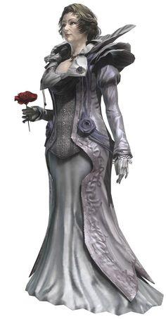 dress, flower // Theresa, Resonance of Fate