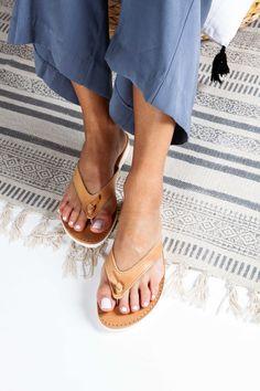 Womens Greek Leather Sandals Platform Leather Flip Flops | Etsy Bohemian Sandals, Bohemian Beach, Gold Sandals, Leather Sandals, Flip Flop Sandals, Wedge Sandals, Wedding Flip Flops, Beautiful Sandals, Sandals Platform