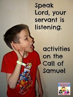 Call of Samuel Activities - Adventures in Mommydom
