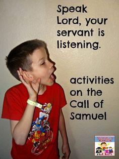 Call of Samuel Activities - Adventures in Mommydom