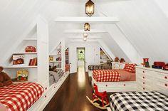 great bunk room