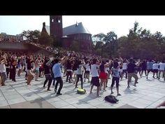 Gangnam Style Flash Mob at Cornell University 9/14/12 강남스타일 플래시몹