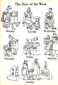 Doesn't this look like an enjoyable, fulfilling lifestyle? (I hope you catch the irony.)  (From The Little Golden Book of Words, 1948, as seen on Brain Pickings.)