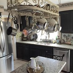 Hanging Pot Rack Ideas for Organization and Style