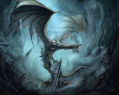 Ice Dragon by Dominik Kasprzycki