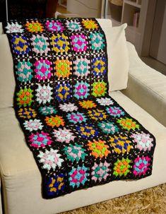Como Fazer: Manta de Lã em Crochê para o Sofá ~ Armarinho São José
