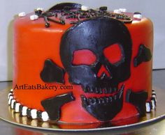 Google Image Result for http://3.bp.blogspot.com/-f_kvsor3wHQ/Ty9HC1yuBSI/AAAAAAAAIv0/ZGYD3YDr9J0/s1600/Red%252Bfondant%252Bunique%252Bbirthday%252Bcake%252Bdesign%252Bwith%252Bblack%252Bscull%252Band%252Bcrossbones%252Band%252Bmini%252Bblack%252Band%252Bwhite%252Bsculls.jpg