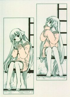 Chobits I have never watched/read this but it looks cute.