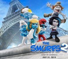 The Smurfs 2 beats The Heat and The Conjuring to top the UK box office chart The Smurfs 2, Good Animated Movies, Beat The Heat, Cool Animations, Funny Movies, The Conjuring, Live Action, Animation Movies, Lei
