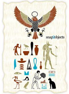 Free Vector Ancient Egyptian Symbols