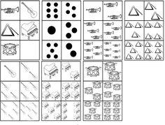 matrix muziek: instrumenten tellen tot 6