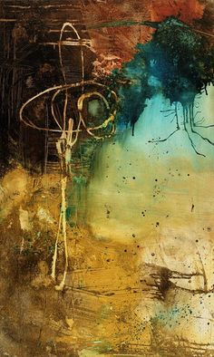 ABSTRACT ART Canvas Print of Wake Up Call