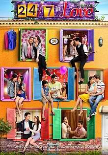 24 7 In Love Movie Eng Sub. Seven love stories intertwine and are brought together by a die-hard fan who tries to win her dream boy's heart. Good Movies To Watch, All Movies, Movies Online, The Quiet 2005, Love Trailer, Pinoy Movies, Gay Best Friend, Star Magic